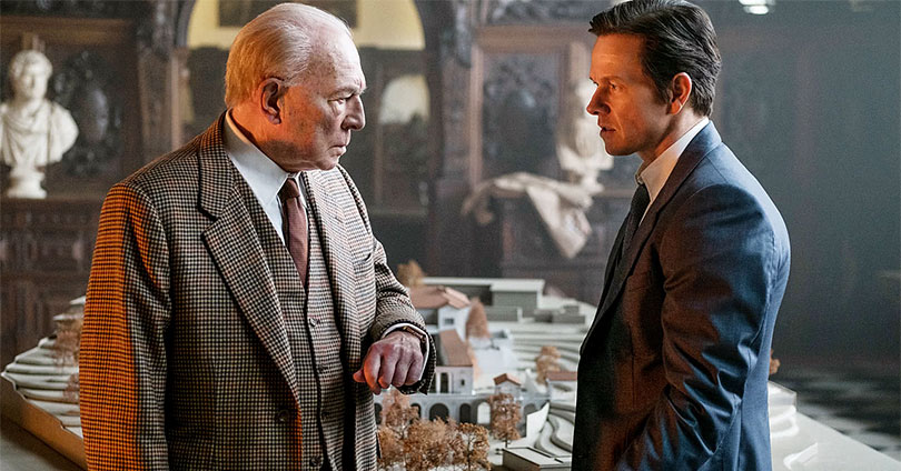 All the Money in the World - Christopher Plummer and Mark Wahlberg