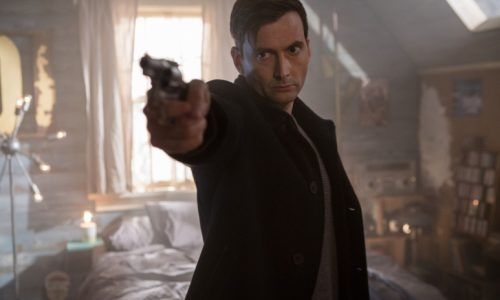 New clip from 'Bad Samaritan' shows how creepy David Tennant is in new film