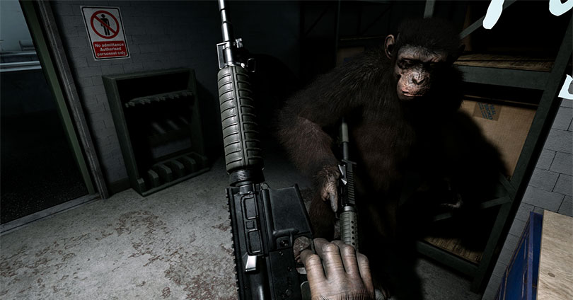 Crisis on the Planet of the Apes Gameplay