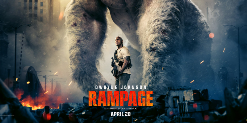 From arcade to big screen, Dwayne Johnson has love for 'Rampage' (VIDEO)