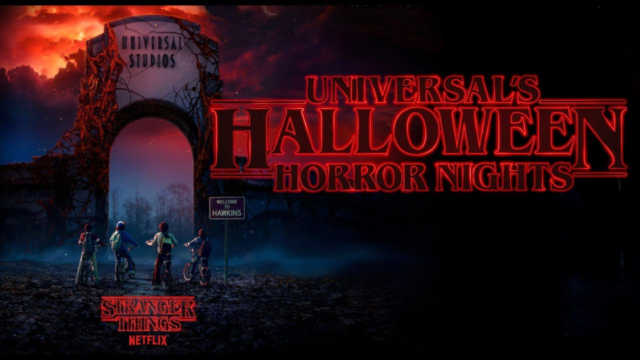 stranger things universal's halloween horror nights