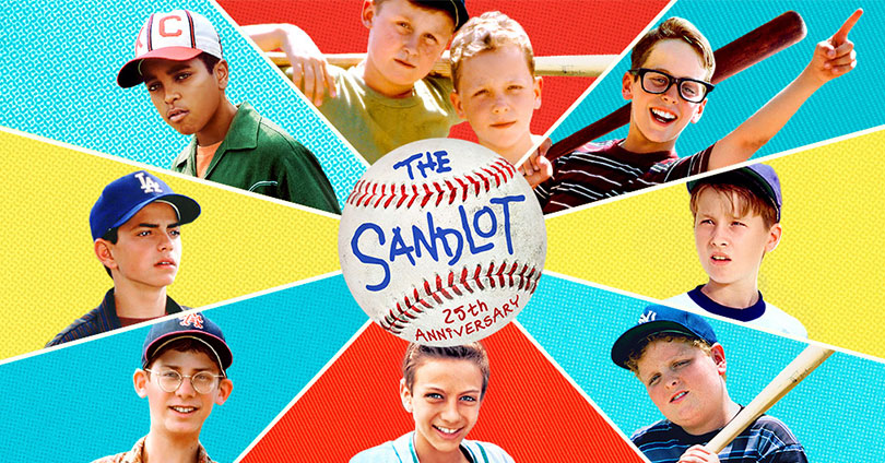 The Sandlot - 25th Anniversary Blu-ray Cover