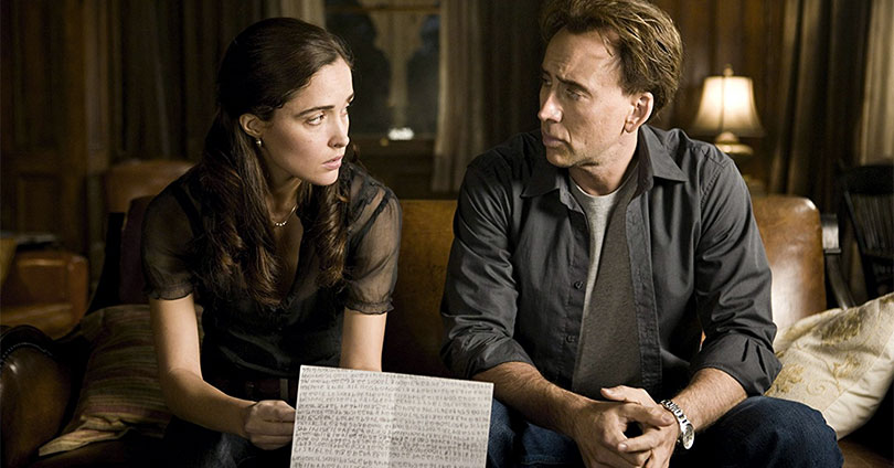 Knowing - Rose Byrne and Nicolas Cage
