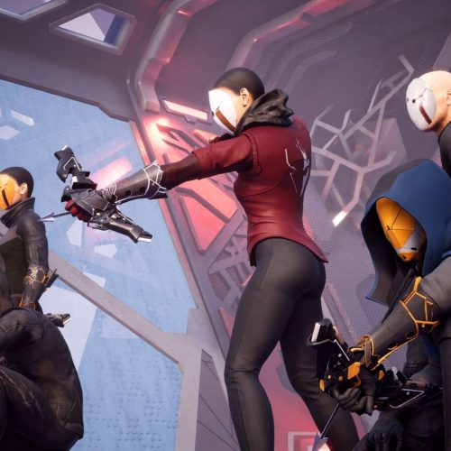 Deathgarden is a fast-paced 5v1 game set in a deadly futuristic game show (impressions)