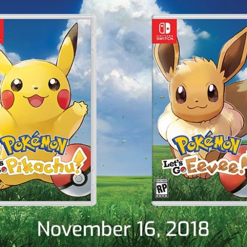 Pokèmon Let's Go Pikachu and Let's Go Eevee revealed!