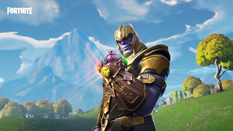Fortnite Thanos Infinity Gauntlet LTM MashUp