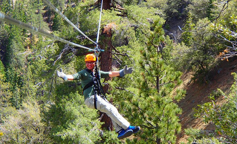 Ziplines at Pacific Crest