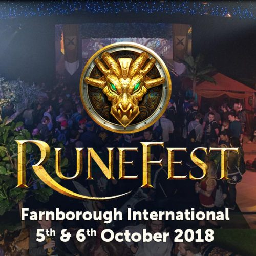 RuneFest 2018, the RuneScape Fan Festival, now has tickets on sale