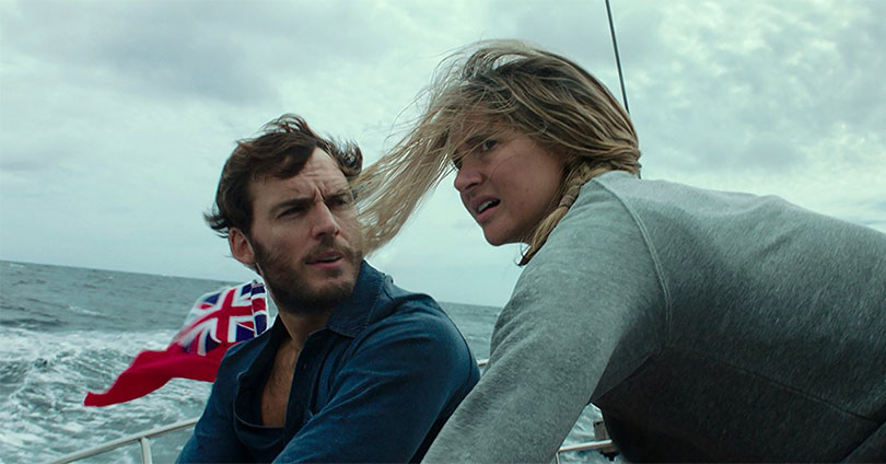 Adrift - Sam Claflin and Shailene Woodley