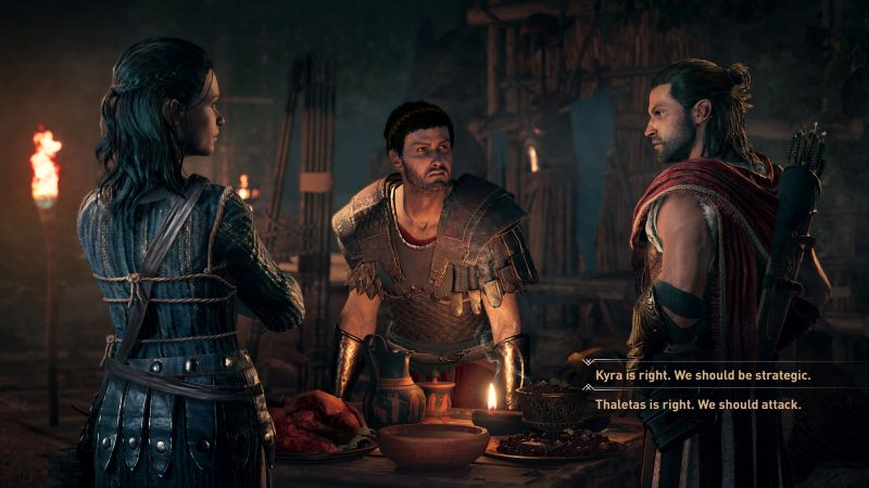 assassin's creed odyssey dialogue