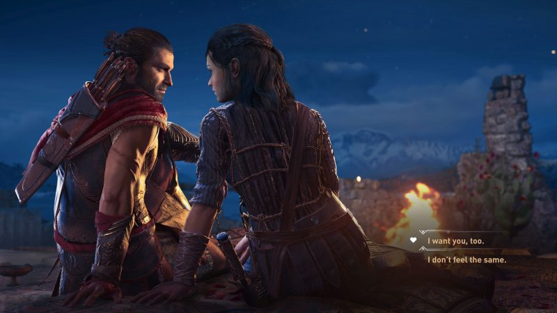 Assassin's Creed Odyssey romance