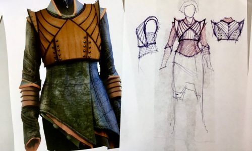 Costume Designer Giovanni Lipari discusses his original designs for AMC's Into the Badlands