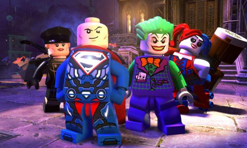 LEGO DC Super-Villains: Play as the Joker, Harley Quinn, Lex Luthor, and custom character