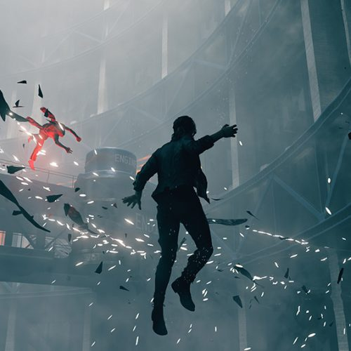 Remedy's Control E3 preview has all sorts of topsy-turvy action