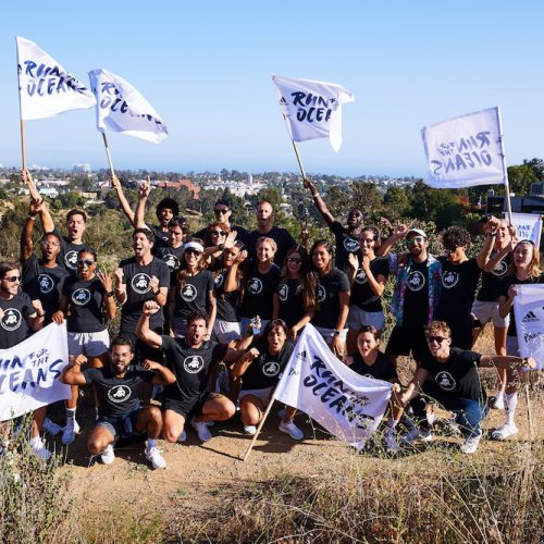 Adidas unite runners for Run for the Oceans event