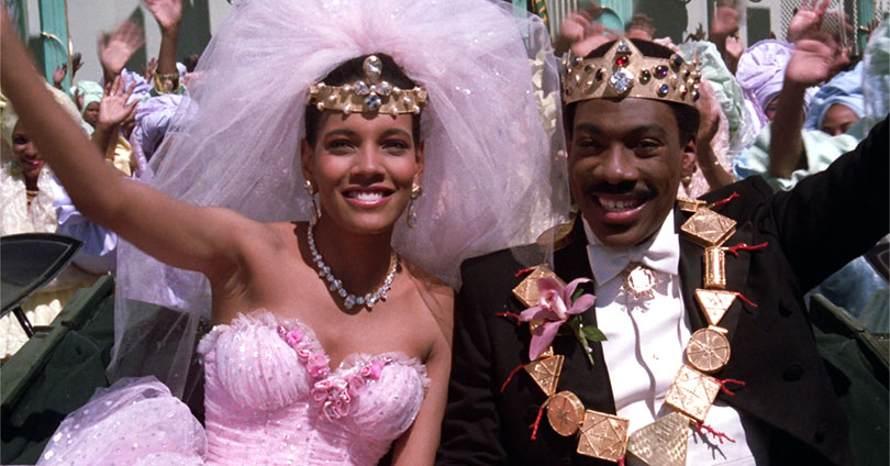 Coming to America - Shari Headley & Eddie Murphy