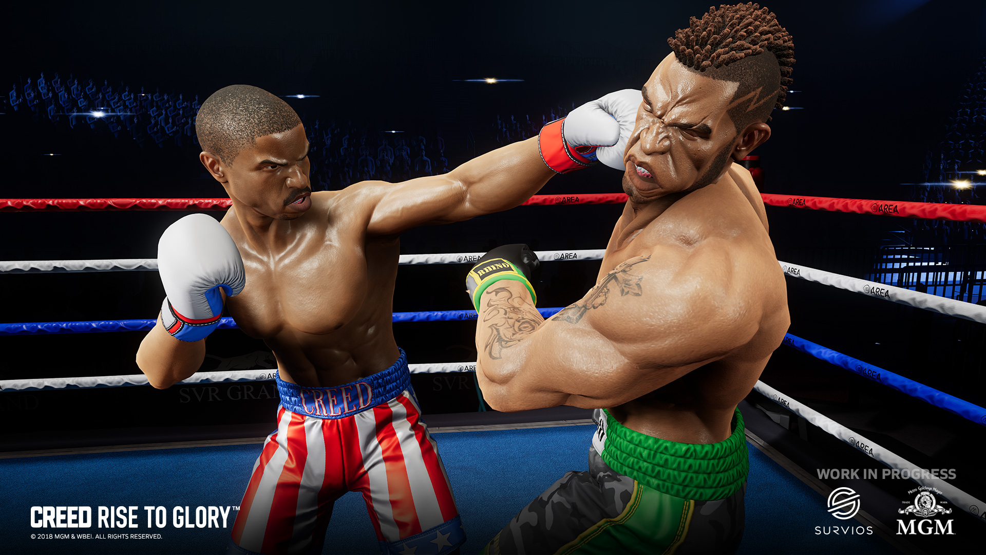 Creed: Rise to Glory Survios boxing game vr