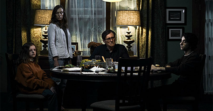 Hereditary - Milly Shapiro, Toni Collette, Gabriel Byrne, and Alex Wolff