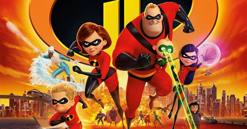 The Incredibles 2 - Theatrical Poster