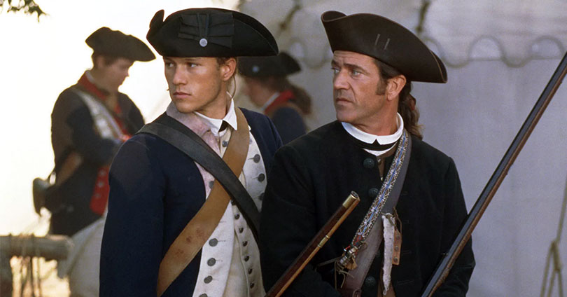 The Patriot - Heath Ledger & Mel Gibson