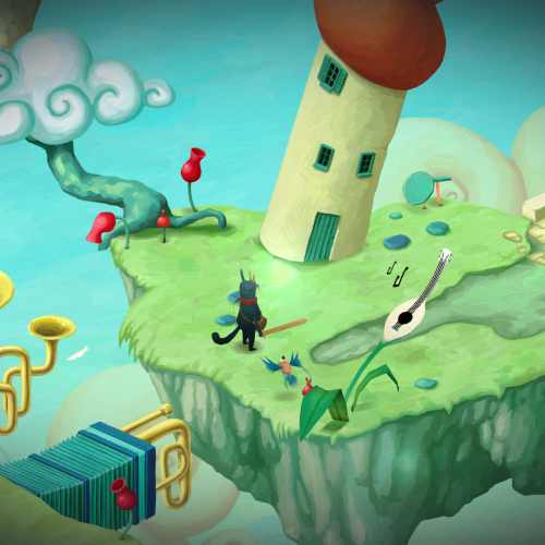 Adventure puzzler Figment's visuals are a delight, but its lead is insufferable (review)
