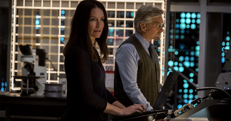 Ant-Man and the Wasp - Evangeline Lilly and Michael Douglas