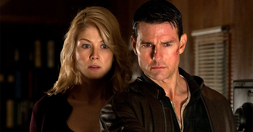 Jack Reacher - Rosamund PIke & Tom Cruise