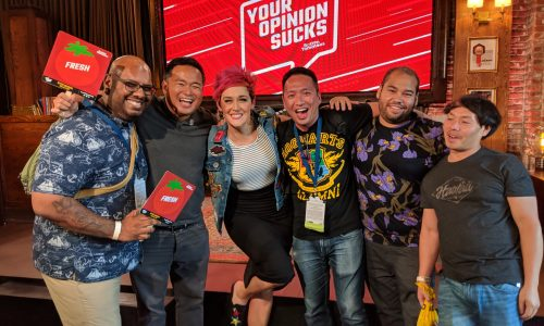 SDCC 2018: Rotten Tomatoes' Your Opinion Sucks Live! is a highlight at Comic-Con