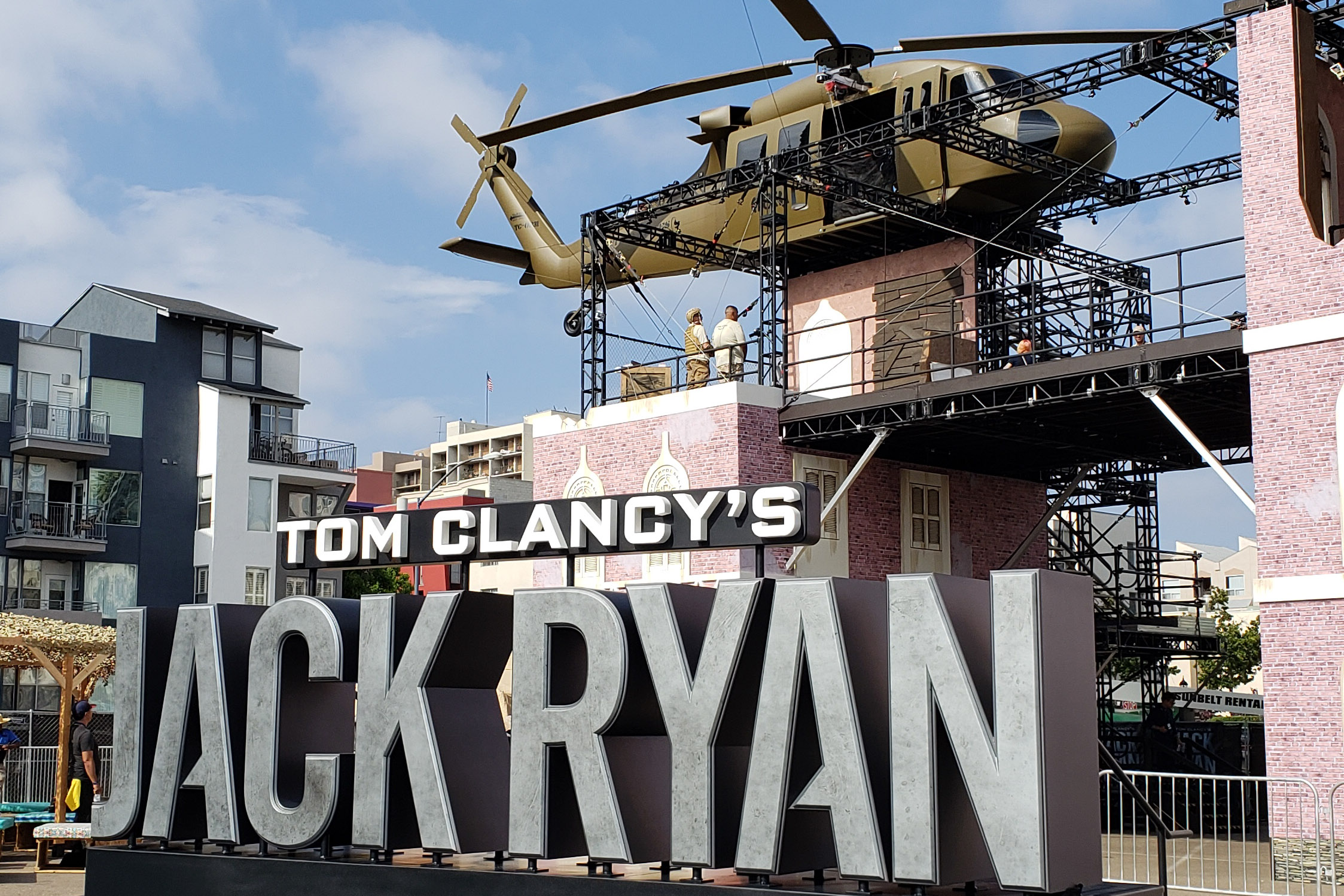 Jack Ryan Fan Experience - Training Field