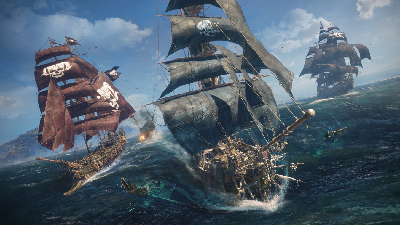 Skull And Bones 2018 Video Game 4k Hd Desktop Wallpaper: Hands-on With Ubisoft's Skull And Bones