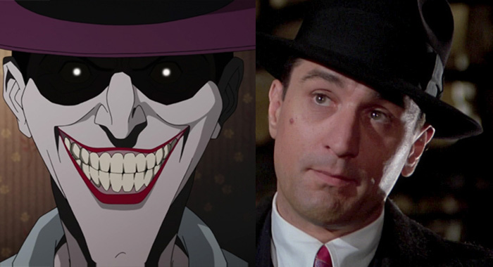 joker killing joke robert de niro Once Upon A Time America
