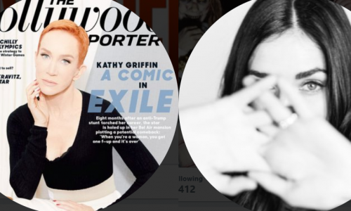 Lydia Hearst replies to Kathy Griffin after Chris Hardwick's return to AMC