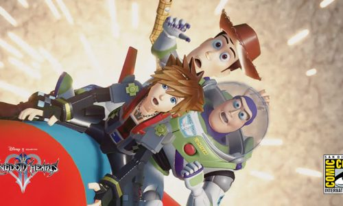 SDCC: Demoing the wonderful worlds of Kingdom Hearts III