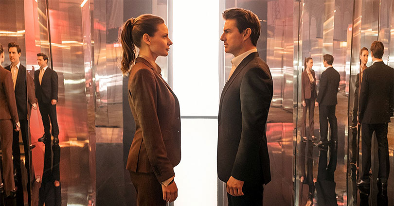 Mission: Impossible Fallout - Rebecca Ferguson & Tom Cruise