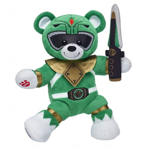 The Green Ranger gets a Power Rangers Build-A-Bear plush
