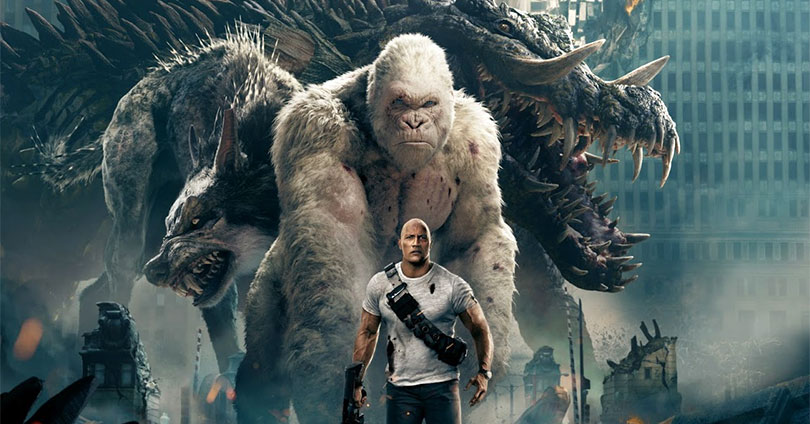 Rampage - Blu-ray Cover