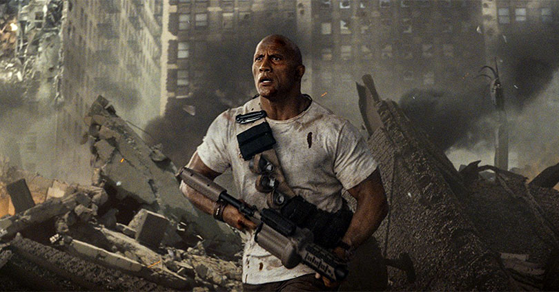 Rampage - Dwayne Johnson