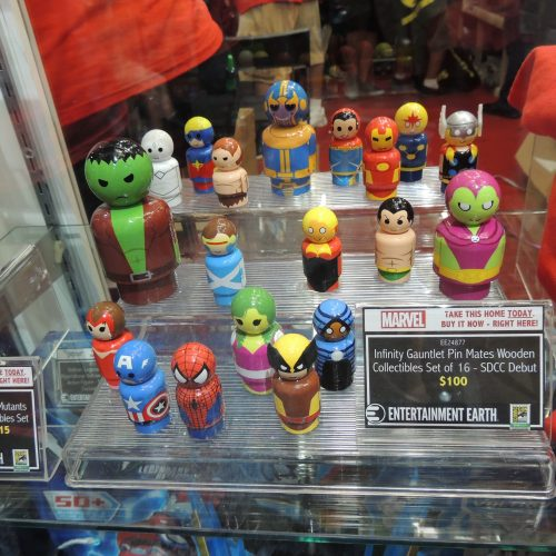Entertainment Earth showcase new Pin Mates collection for San Diego Comic-Con