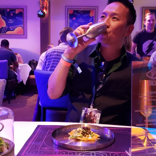 Demolition Man's futuristic Taco Bell was a highlight at SDCC