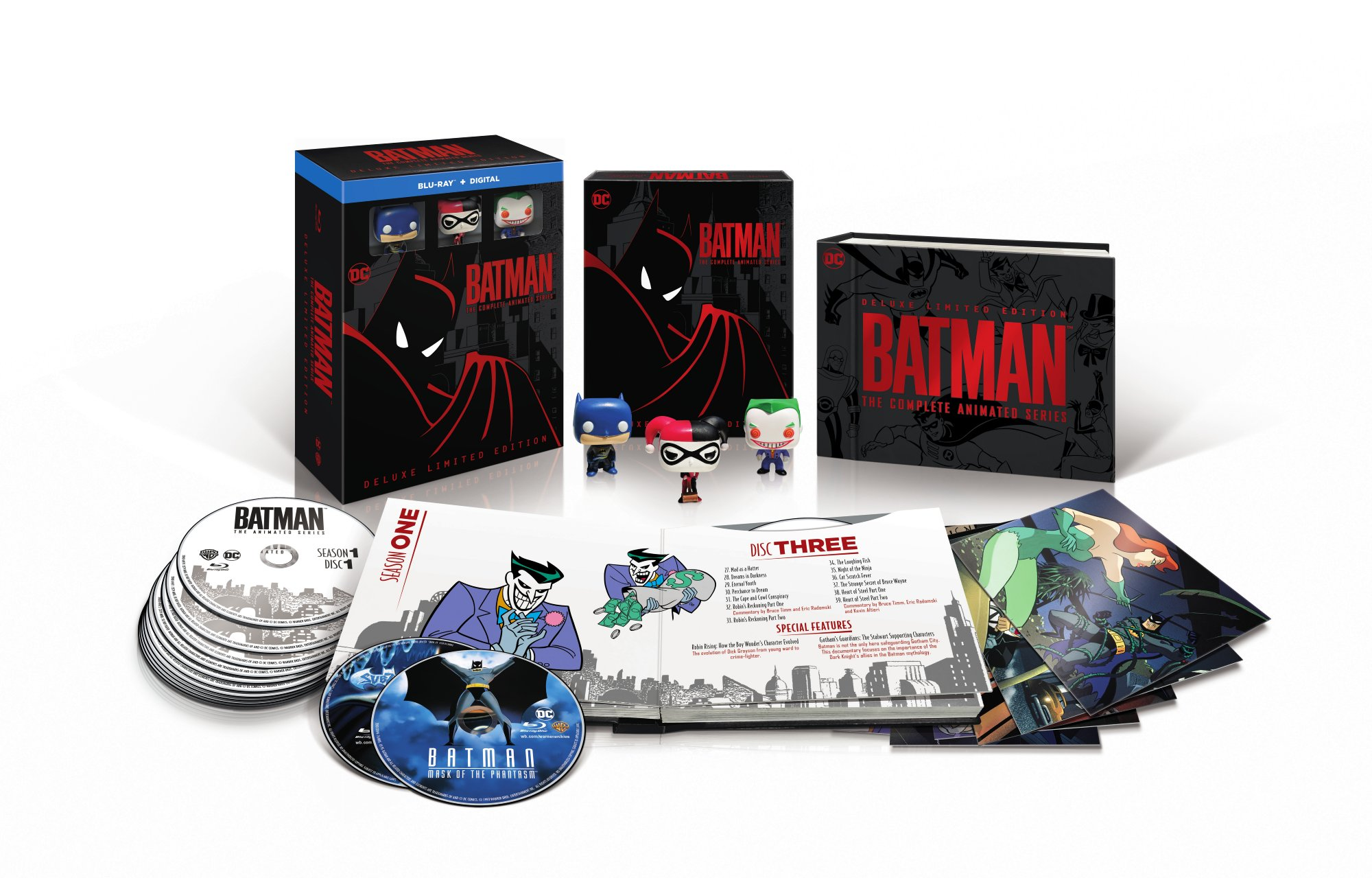 Batman: the Animated Series Blu-ray Beauty Shot