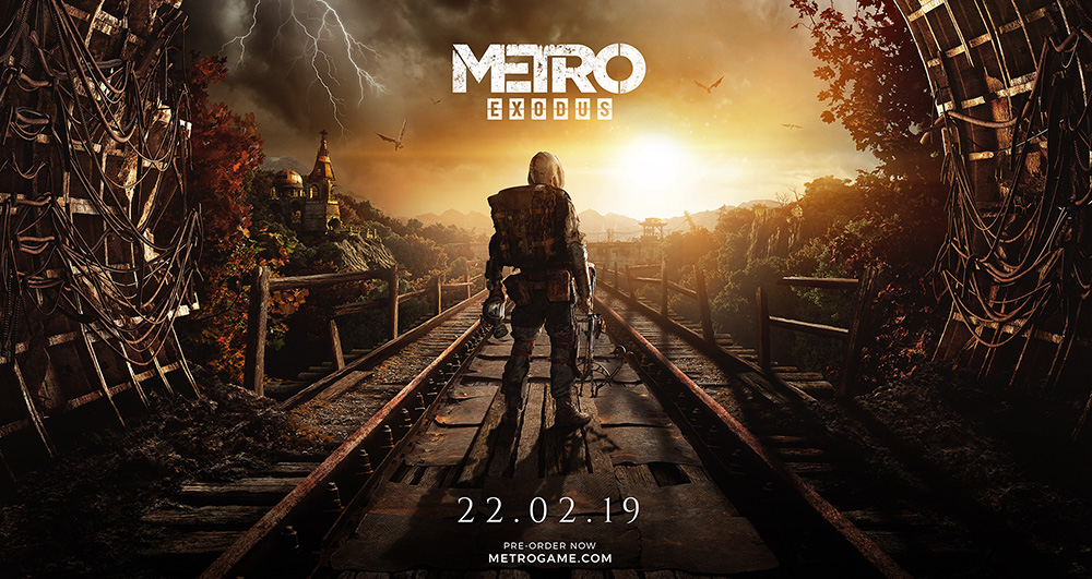 Metro Exodus Autumn Key Art