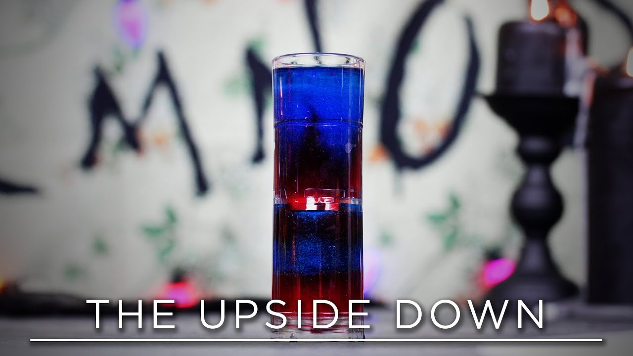 The Upside Down Halloween Drink Stranger Things