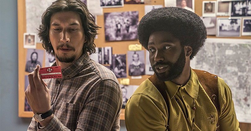 BlacKkKlansman - Adam Driver & John David Washington