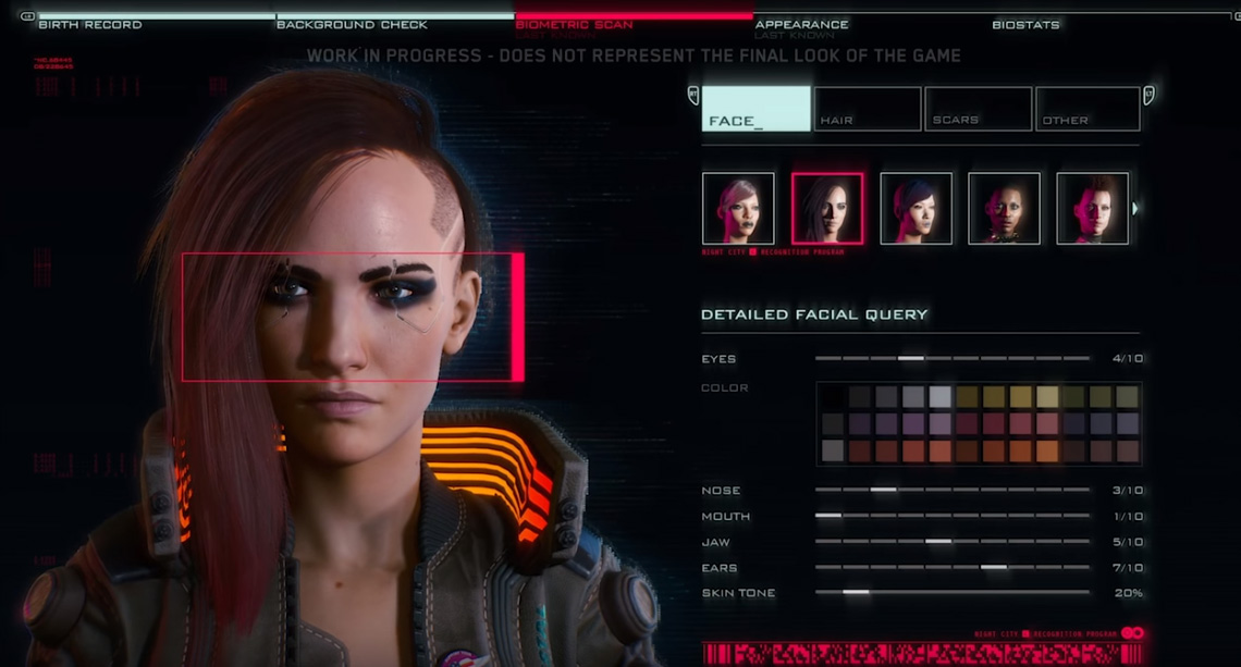cyberpunk 2077 customize