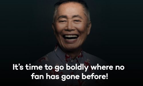 George Takei's TraceMe will be a place where fans can have 'civil discussion'