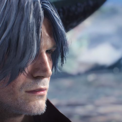 Dante uses motorcycle as melee weapons in Devil May Cry 5 Gamescom trailer