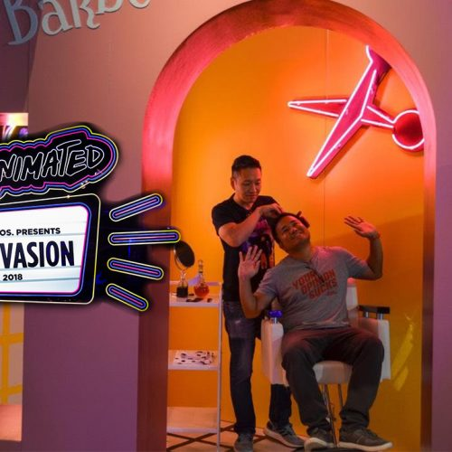 Get Animated Invasion Museum in LA features Animaniacs, Looney Tunes, Space Jam