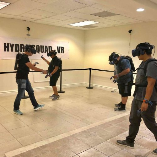 LA Dragon Studios' Hydra Squad is LA's first free-roaming VR escape room