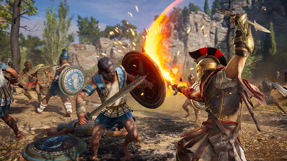 Assassin's Creed Odyssey _114_EpicBattleFlamingSword_1536354638