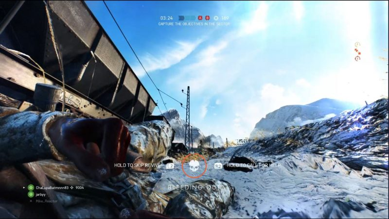 Battlefield V Bleeding Out Nerd Reactor